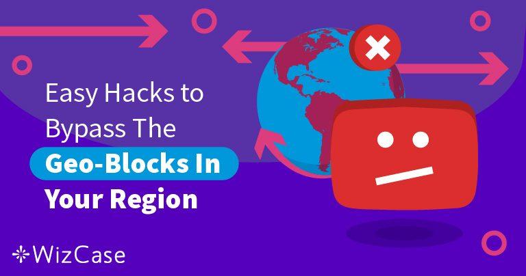 """"""" Vidéo non disponible dans votre région """" ? Utilisez un VPN"""